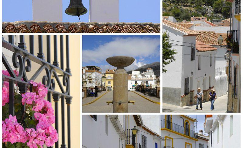 Alfarnate Malaga Province Andalucia Spain